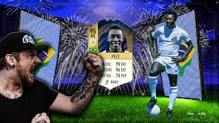 FIFA 18   95 ICON PELE im PACK 😱😱 Crew TOTY Pack Opening 😱
