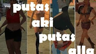 GTA san andreas PUTAS HARRY PUTAS