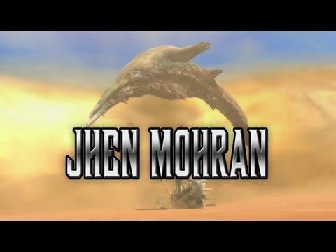 Monster Hunter - Meet the Jhen Mohran
