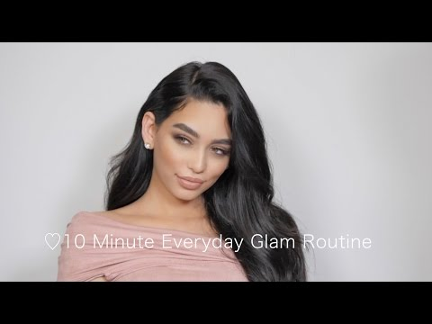 10 Minute Everyday Simple Glam Routine