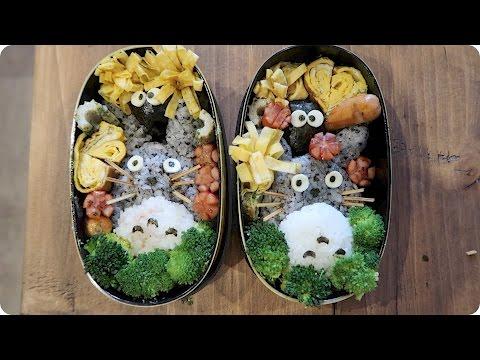 Making Totoro Bento Boxes Evan Edinger Travel
