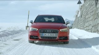 2013 Audi S3 Sportback SNOW TEST