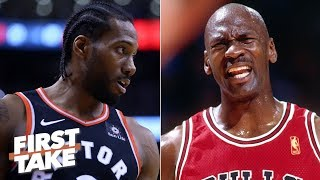 Kawhi is more like Scottie Pippen, not Michael Jordan - Max Kellerman | First Take
