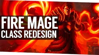 Patch 7.1.5 Fire Mage Redesign - World of Warcraft Legion