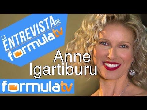Anne Igartiburu Me gustaría presentar un reality de buscar pareja