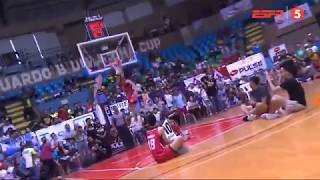 RENZ PALMA ALMOST FREE THROW LINE DUNK PBA ALL STAR DUNK CONTEST 2018