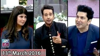 Salam Zindagi - Guest: Rubeena Ashraf & Fakhir - 13th March 2016
