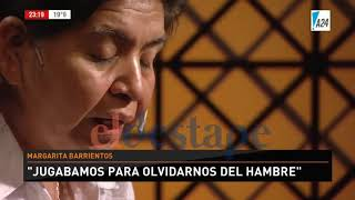 Las dos caras de Margarita Barrientos