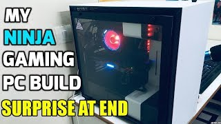 My PC build video !! NINJA PC !!!