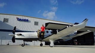 Flight VLOG - Flying a Brand New TBM930