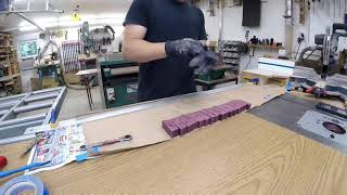 Making a segmented snare drum shell
