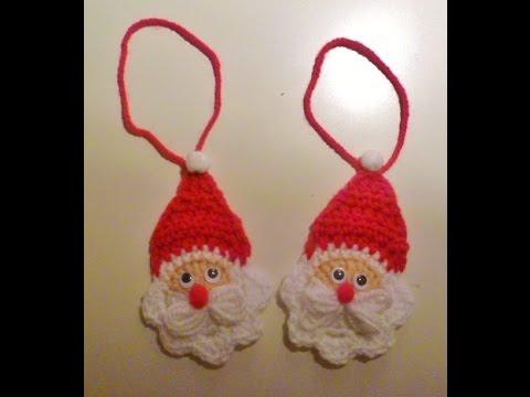 Weihnachten Nikolaus Häkeln Weihnachtsmann Anhänger Santa