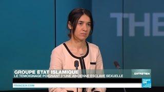 Nadia Murad, jeune yézidie enlevée par l