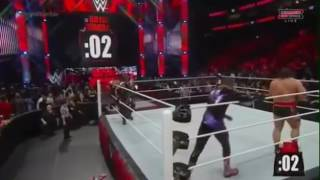 Rock helps roman reign to win royal rumble great match forever.