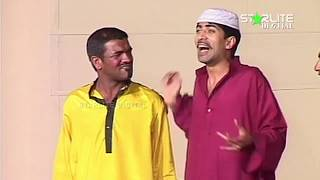 Sajan Abbas and Tahir Anjum New Pakistani Stage Drama Full Comedy Funny Clip