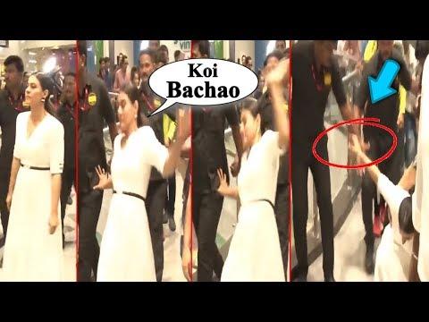 Xxx Mp4 Kajol Devgn Falls Badly In Public Checkout The Video 3gp Sex