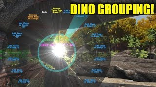 NO MORE WHISTLE ALL! (DINO GROUPING)- HOW NOT BE A NOOB- ARK: SURVIVAL EVOLVED