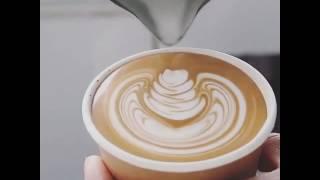 Latte Art @arabica.uae by Junichi Yamaguchi