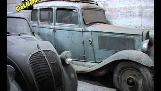 automobili ritrovamenti generali