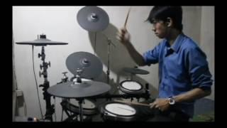 Dewa 19 - Larut Drum Cover