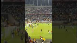 Kaizer chiefs fans at Moses mabhida stadium after a losing a match 🤣🤣