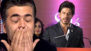 Shahrukh Khan Emotional Speech For Karan Johar At