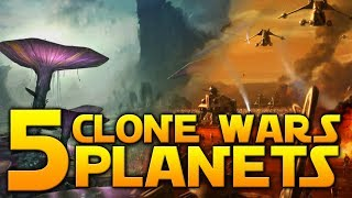 5 CLONE WARS PLANETS WE WANT - Star Wars Battlefront 2