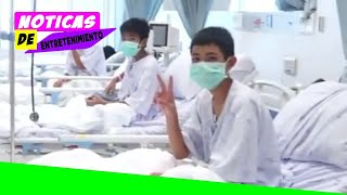 Thailand cave rescue: First footage emerges of boys in hospital