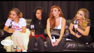 Little Mix Talk About Working Hard and Feeling Lucky - INTERVIEW