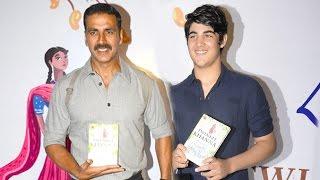 Akshay Kumar With His HANDSOME Son Aarav Kumar
