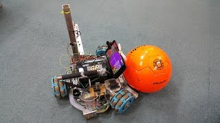 Android-controlled Color Tracking 3WD Omni Robot