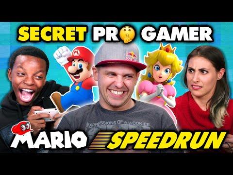 Professional Mario Speedrunner DESTROYS Gamers React