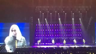 "Seungri dance ""single lady"" & G Dragon talk&dance Bigbang made tour in macau 20151025"