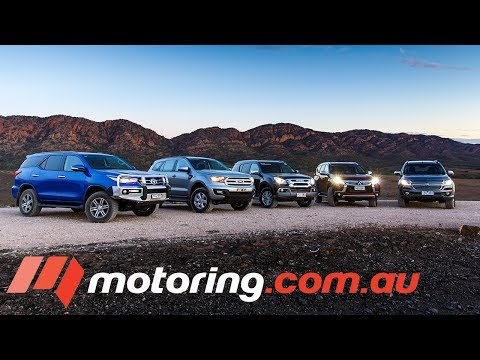 2017 Large 4WD SUV Comparison - The Verdict | motoring.com.au