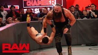 Braun Strowman vs. The Miz - Seven-Man Gauntlet Match Part 6: Raw, Feb. 19, 2018