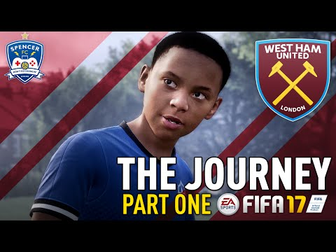 THE JOURNEY 1 FIFA 17 AND SO IT BEGINS LET S GO ALEX HUNTER