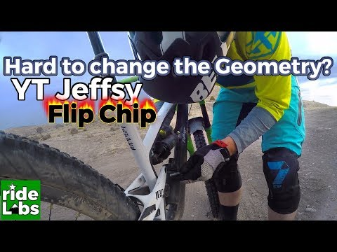 YT Jeffsy flip chip | Changing geometry on the trail | YT jeffsy setup