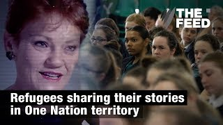 Refugees sharing their stories in One Nation territory
