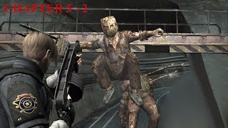 Resident Evil 4 - Story (Welcome To Hell) Mode - Chapter 5-2 (New Game - Professional) HQ