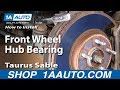 Download Video How To Install Replace Front Wheel Hub Bearing Taurus Sable 96-06 Part 1 1AAuto.com 3GP MP4 FLV