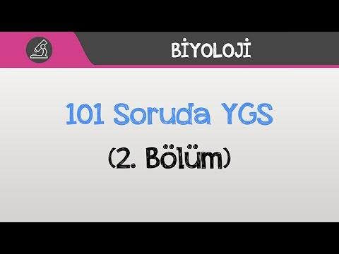 101 Soruda YGS Biyoloji - (2. Bölüm)