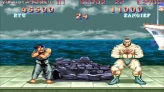 Street Fighter 2 Champion Edition - Kyle Reese (Usa) vs Caution (Brazil)