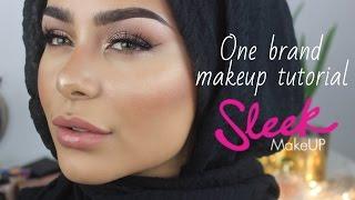 Sleek Makeup | One Brand Makeup Tutorial