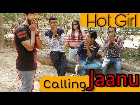 Hot girls calling janu/sona prank 2017