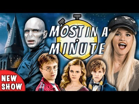 Who Can Name The Most Harry Potter Characters In A Minute NEW SHOW