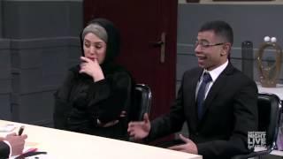 لما أمك تروح معاك الانترفيو - SNL بالعربي