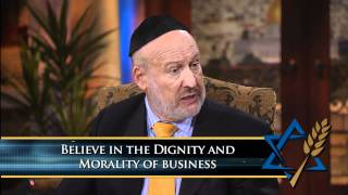 Rabbi Daniel Lapin: Ten Commandments to Making Money (August 28, 2011)