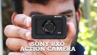 Sony RXO Action Camera Review and Unboxing [ Malayalam]