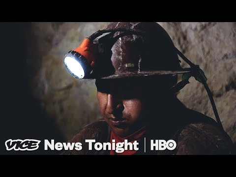 Bolivian Child Miners Work In Dangerous Conditions To Help Support Their Families