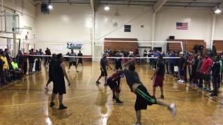 Hattiesburg-Bham vs Memphis (Playoff Game 2) Desi Volleyball Chattanooga, TN March 2017